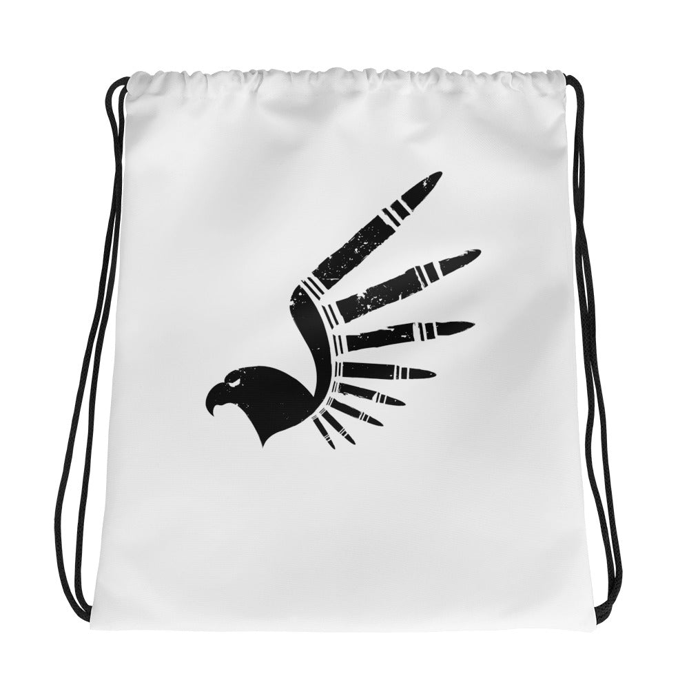 Kickin' Brass Eagle Drawstring bag