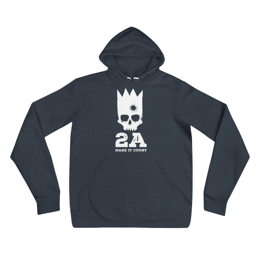 2A Make It Count Unisex hoodie