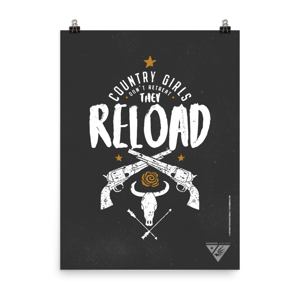 "18""x24"" Reload Poster"