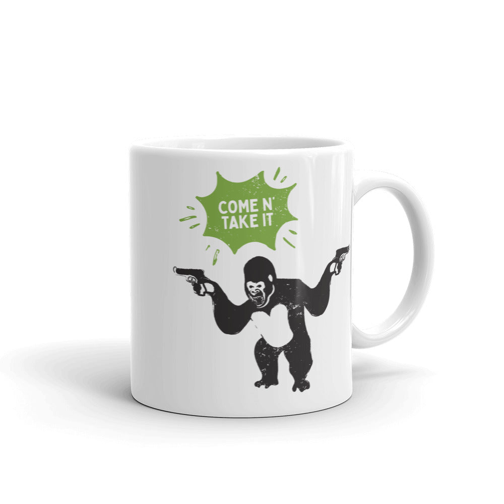 Come N' Take It - Gorilla Coffee Mug