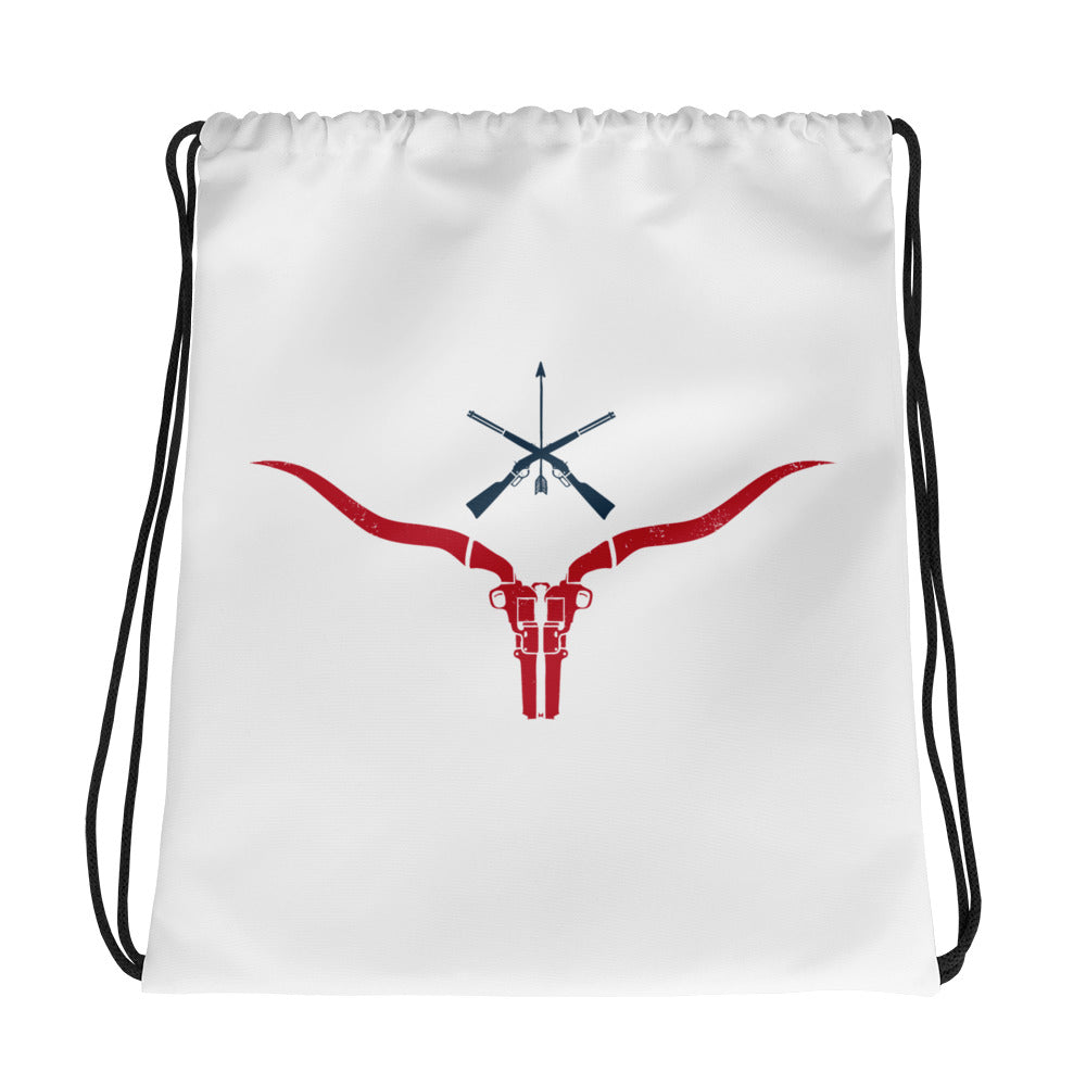 Texas Longhorn Drawstring bag