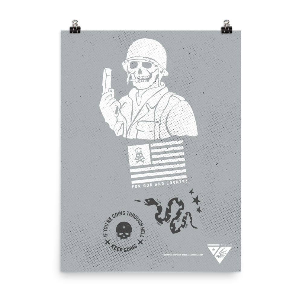 Tribute To Veterans Poster