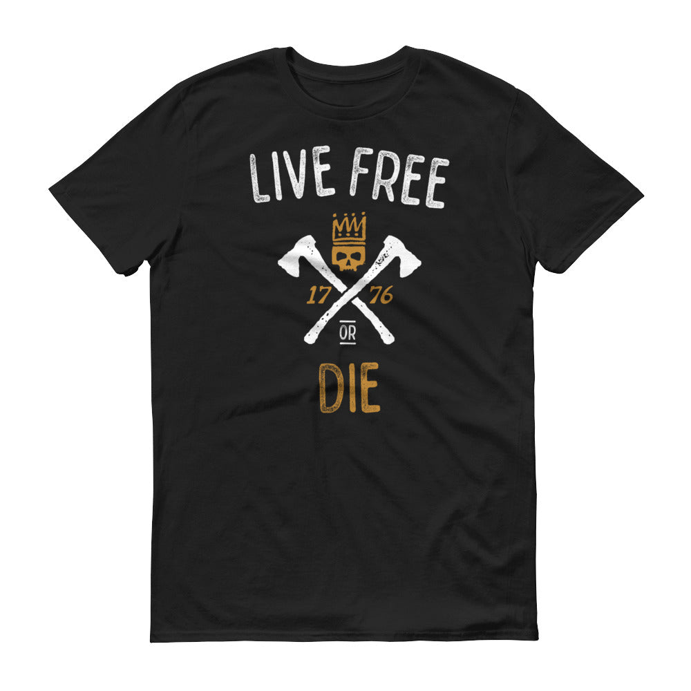 Live Free Or Die Short-Sleeve T-Shirt