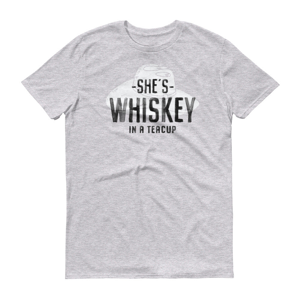 Whiskey In A Teacup Short-Sleeve T-Shirt