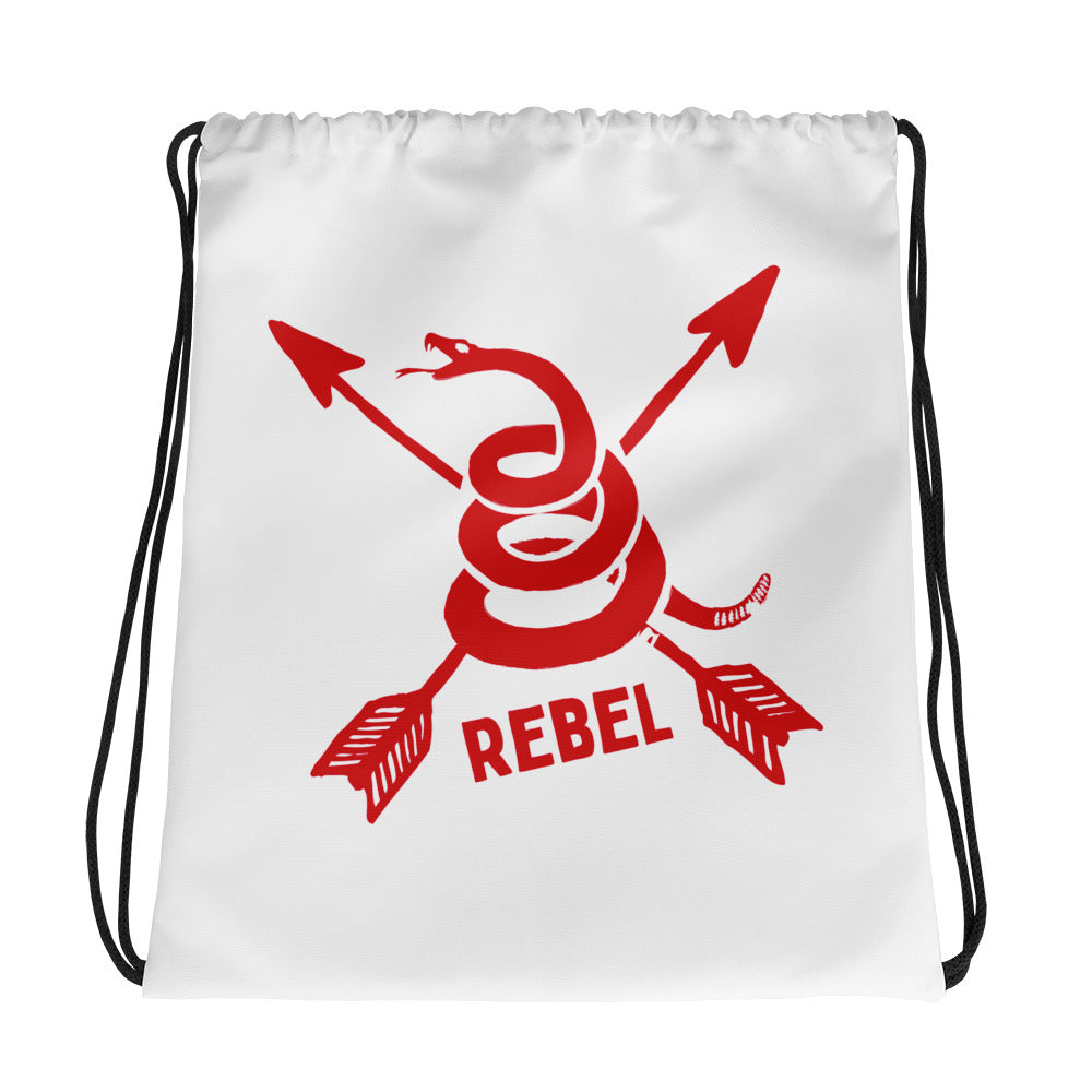 Rebel Drawstring bag