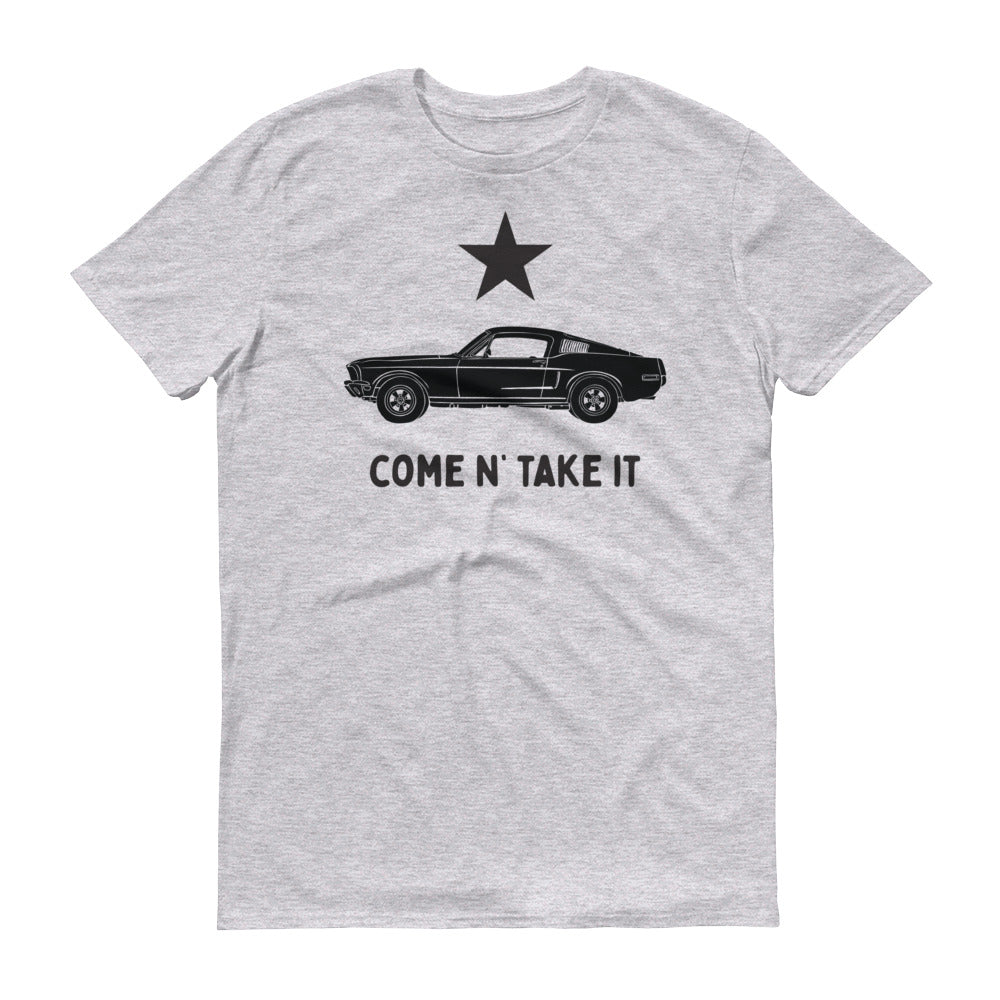 Gonzales Flag 60s Mustang Short-Sleeve T-Shirt