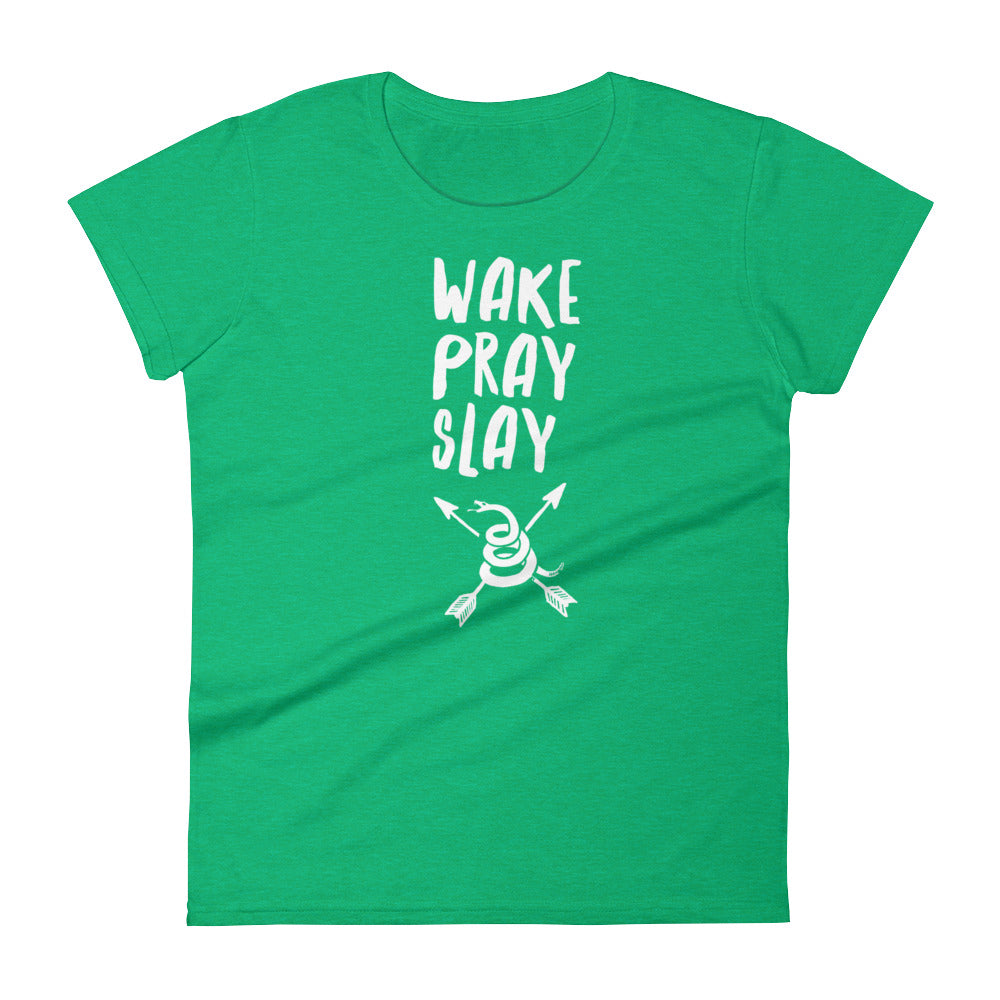 Wake, Pray, Slay Women's Short Sleeve T-shirt