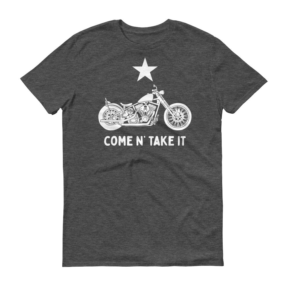 Gonzales Flag Bike Short-Sleeve T-Shirt