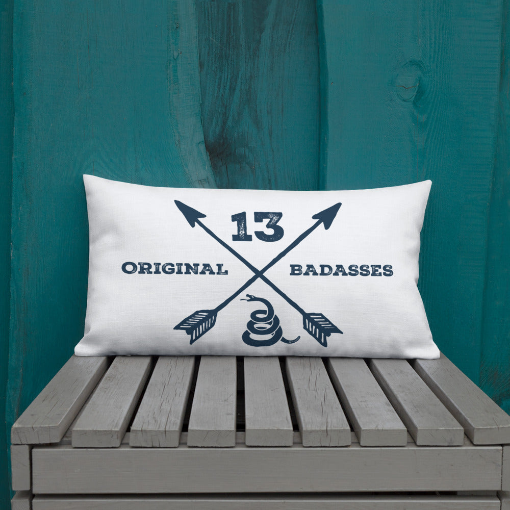 13 Original Badasses Premium Pillow