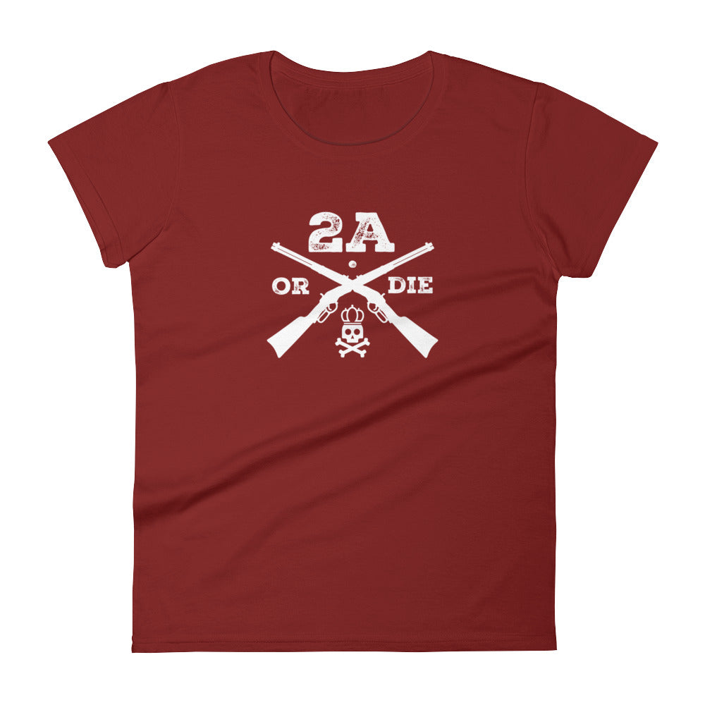 2A or Die Women's Short Sleeve T-Shirt