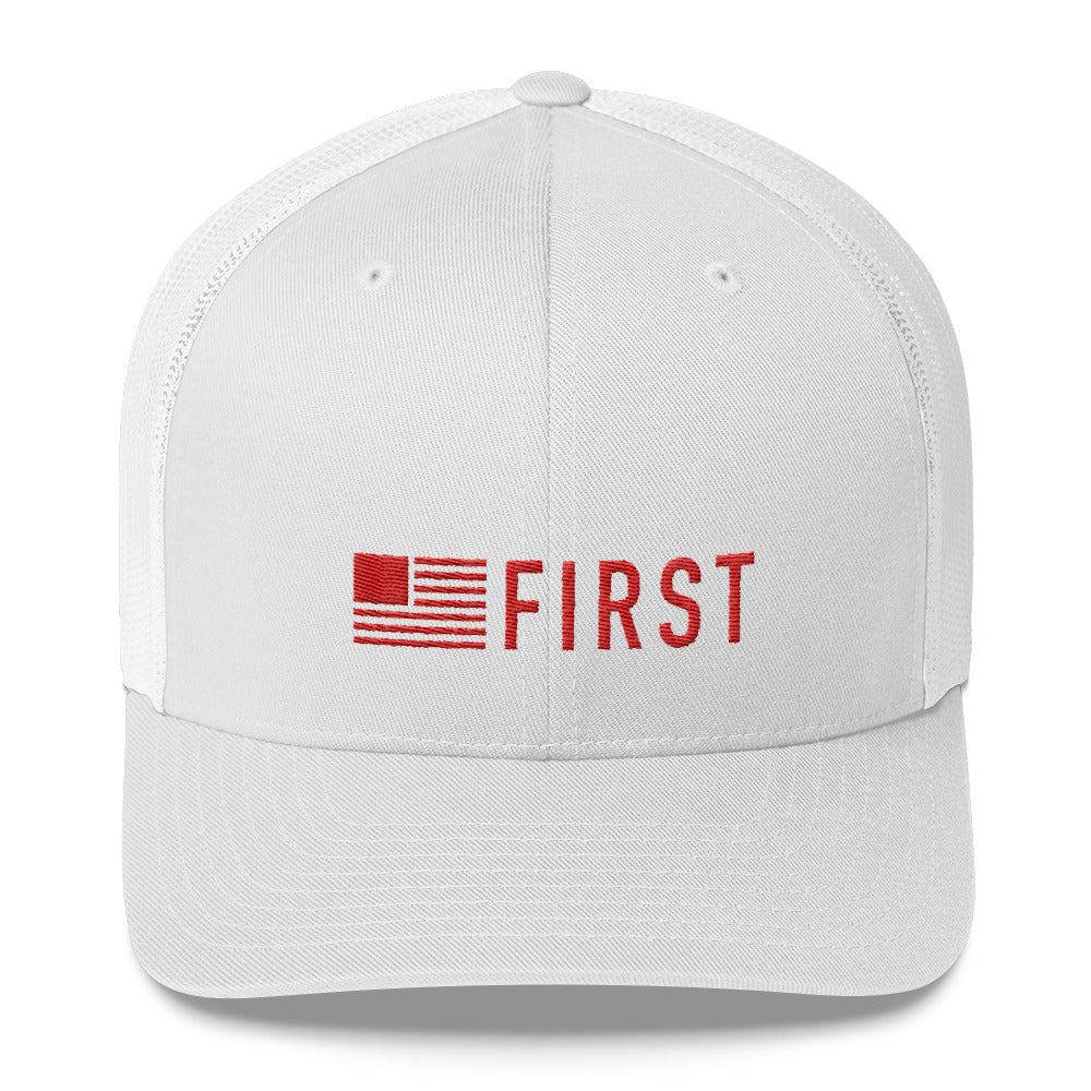 America First Trucker Cap