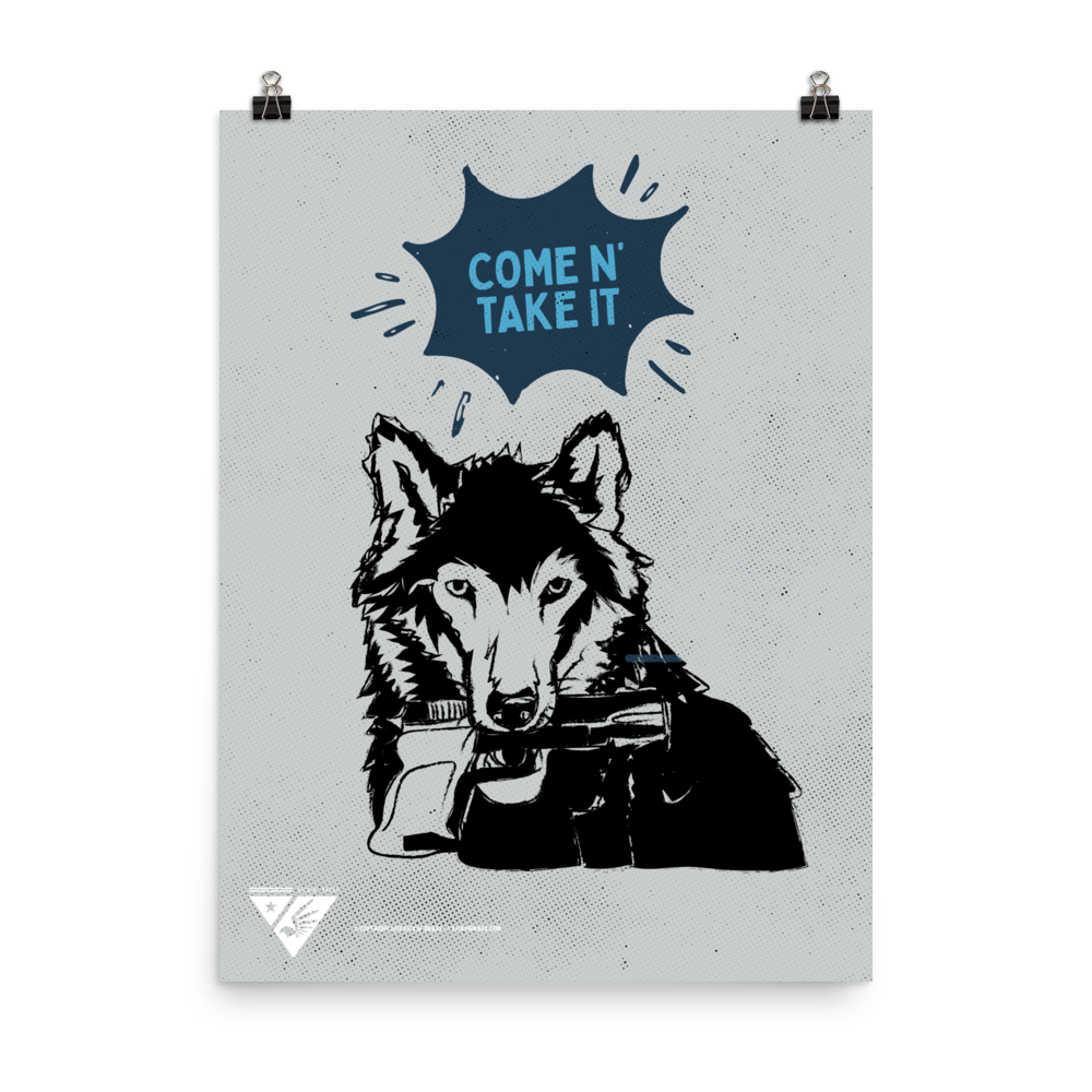 "18""x24"" Wolf Poster"