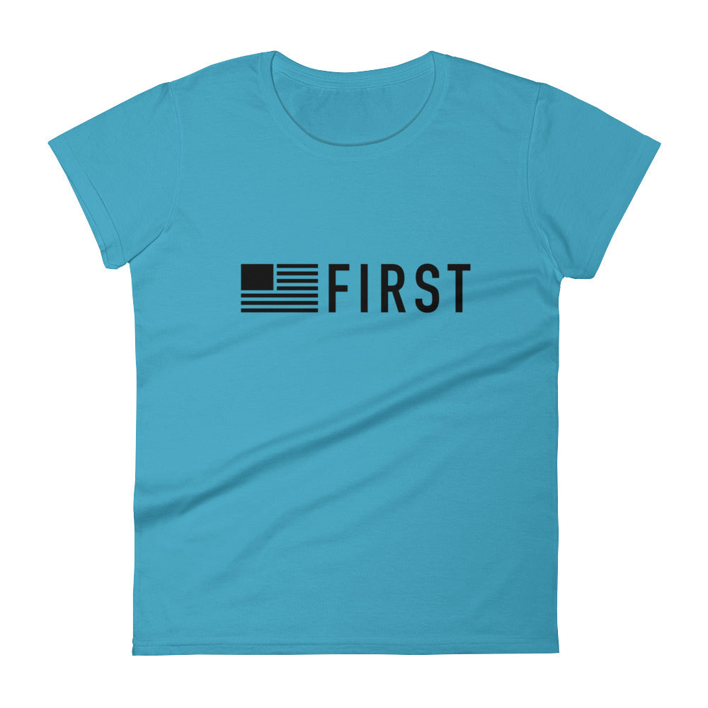 America First Women's Short Sleeve T-Shirt