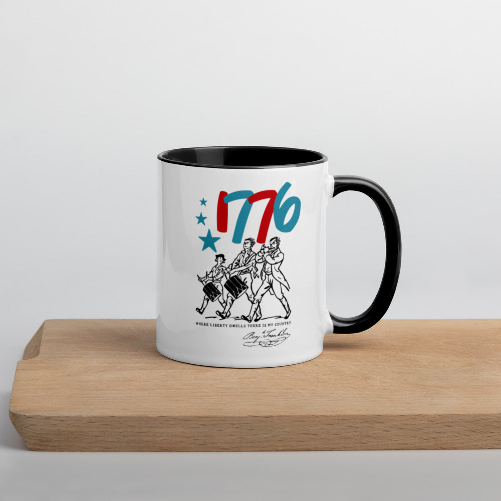 Minutemen Mug with Color Inside