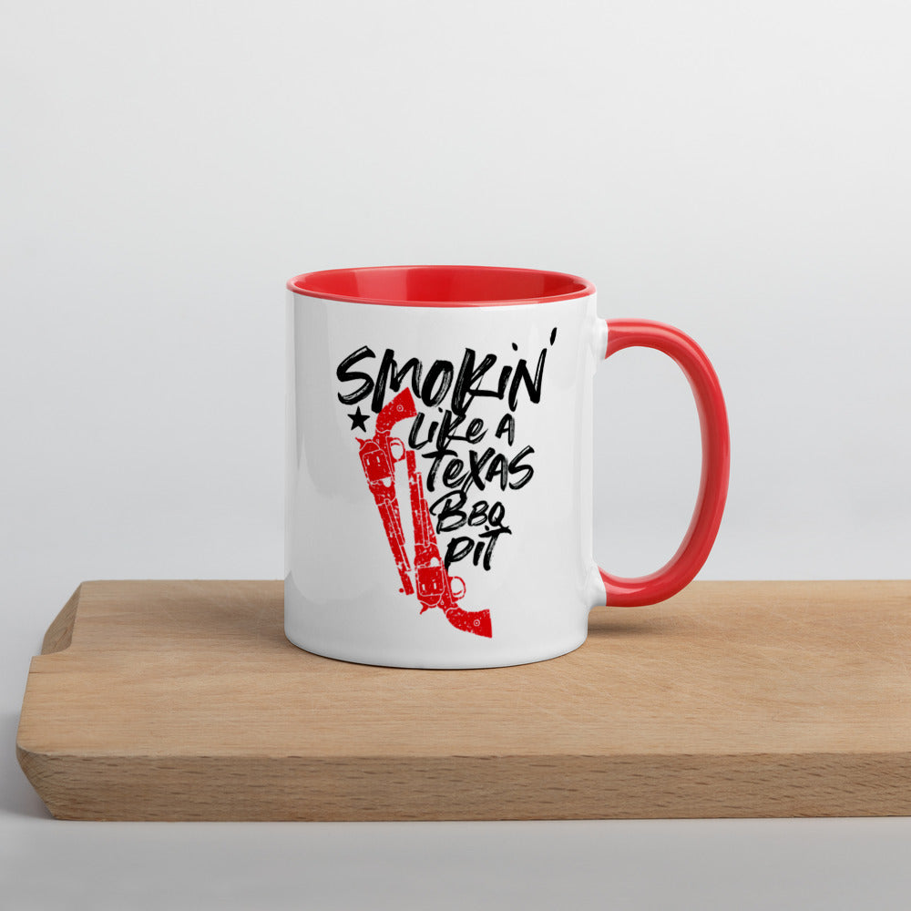 Smokin' Mug with Color Inside