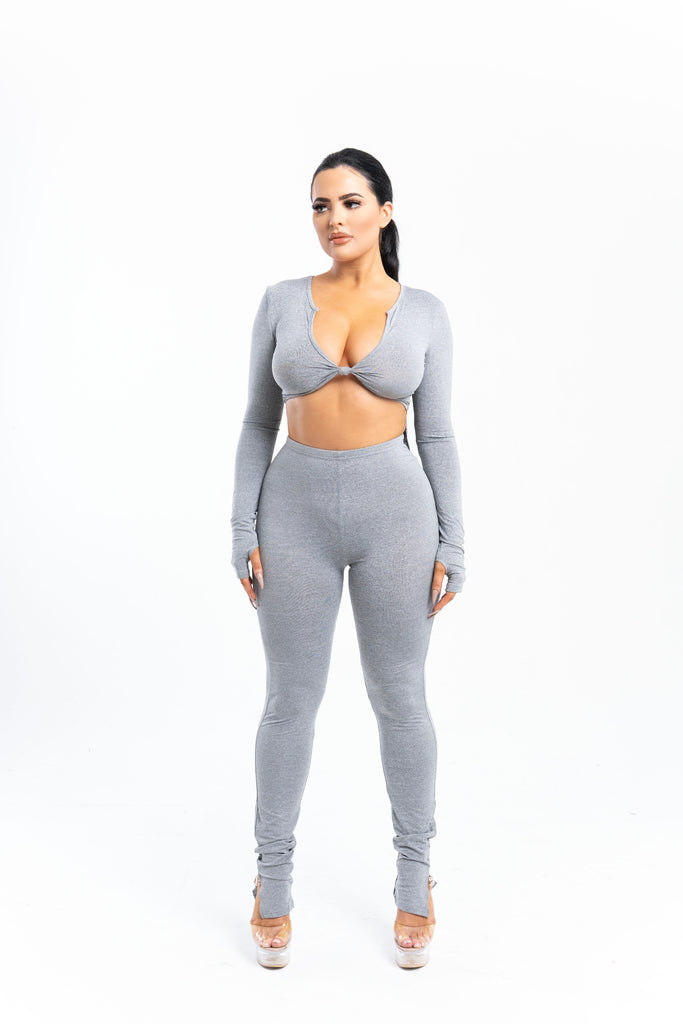 Atlanta Two Piece Grey