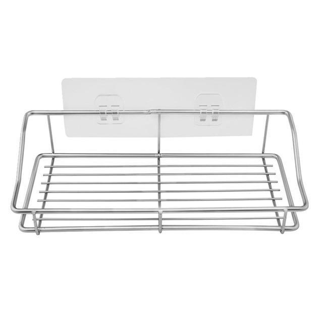Mighty Shopping 25x12x6cm Stainless Steel Sink Hanging Rack