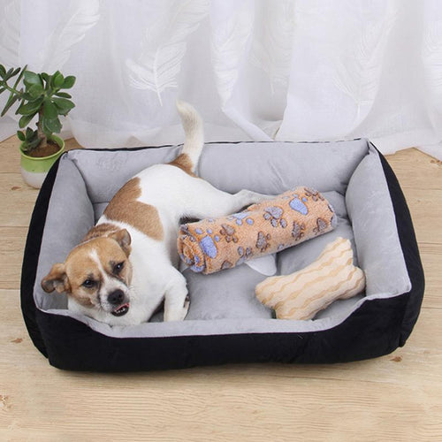 Mighty Shopping Dog Warming Kennel Washable Bed