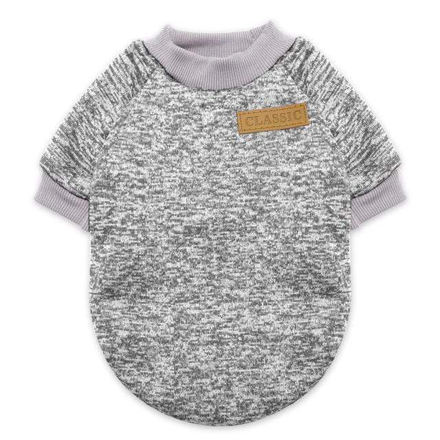 Mighty Shopping Gray / L Pet Winter Warm Clothes