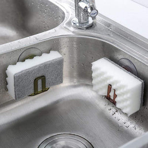 Mighty Shopping Kitchen Sink Soap Sponge Holder