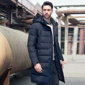 Mighty Shopping Store Men's Winter Long Coat M460 / XL / China ICEbear 2019 Long Thick Winter Coat