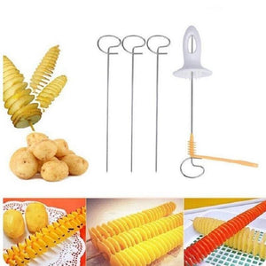 Mighty Shopping Vegetable Fruit Spiral Slicer Cutter