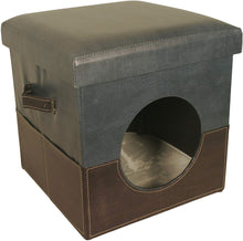 Load image into Gallery viewer, Pet House Ottoman