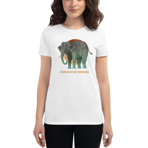 T-shirt Femme Éléphant In The Room
