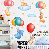 Stickers Animal Ballon