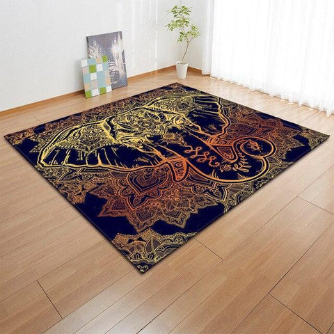 Tapis Tête Animal