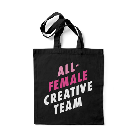 All-Female Creative Team Tote Bag (Pink)