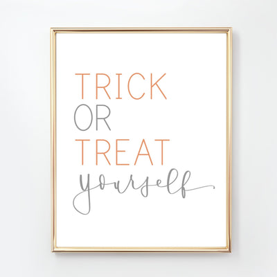 HALLOWEEN | Trick or Treat Yourself