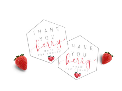 Favor tags | Berry