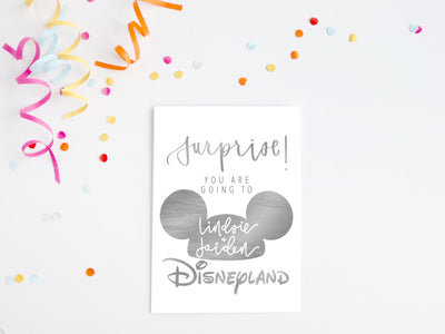 Surprise! You are going to Disney!