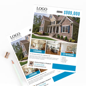 For Sale Real Estate Flyer - Template Design 02