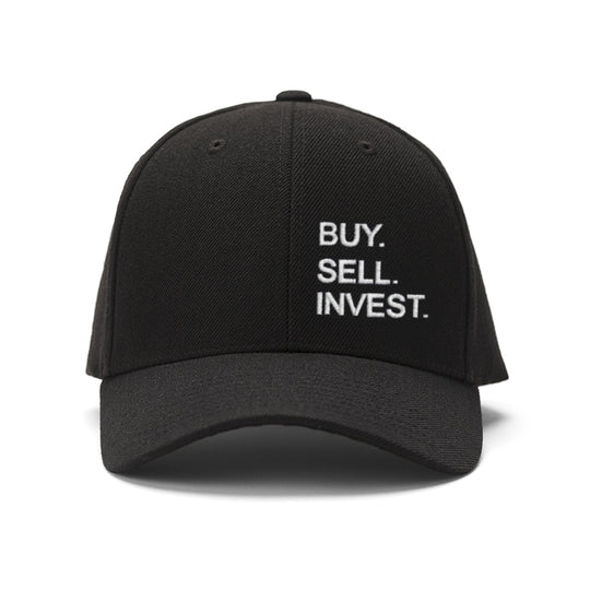 Vertical Buy. Sell. Invest. Hat