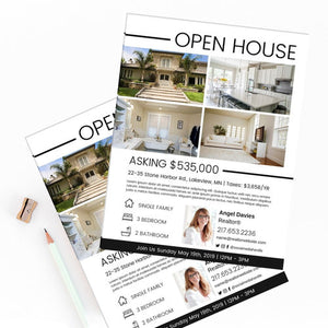 Open House Flyer - Template Design 05