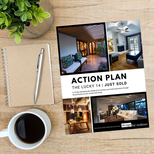 Real Estate Agent Marketing Action Plan - Just Sold