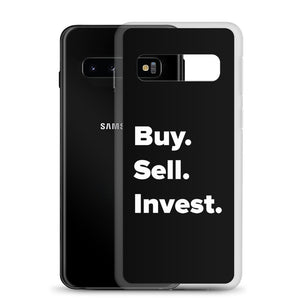 Buy. Sell. Invest. Real Estate Samsung Phone Case