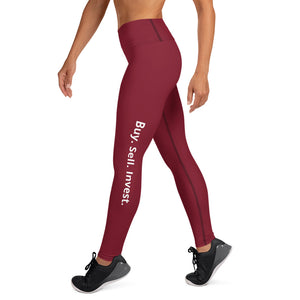 Ruby Buy. Sell. Invest. High Waist Yoga Leggings