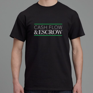 Cash Flow & Escrow T-Shirt-Design For Realtors