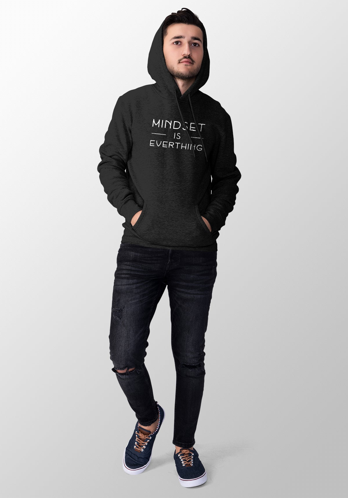 Mindset is Everthing Hoodie Men's