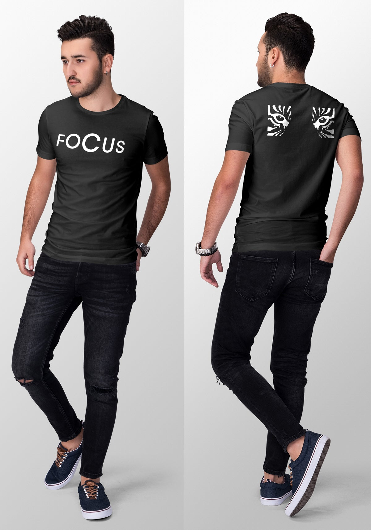 Focus Crew Neck Men's