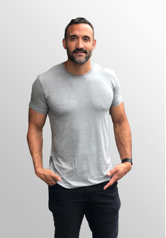 Men's Luxurious 95% Bamboo Tee