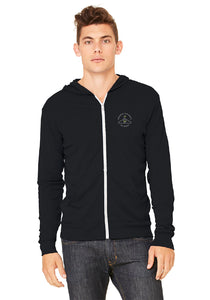 Men's Three-End Bamboo Everyday Zippie Hoodie