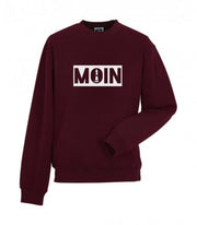 "Sweater ""MOIN"" - burgund"