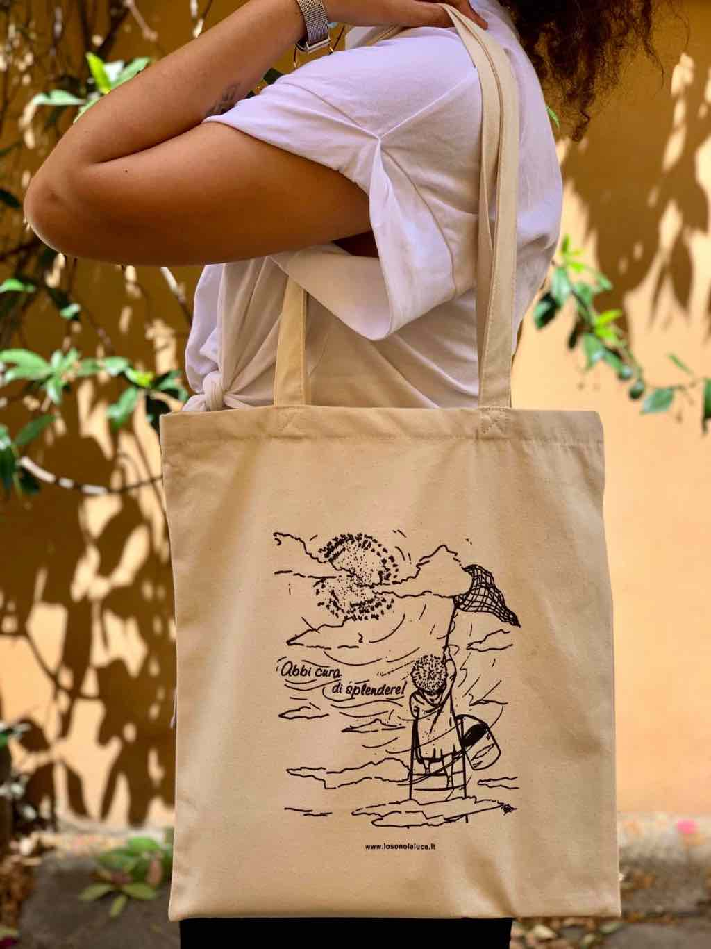 Tote Bag: Shopper in Cotone Organico