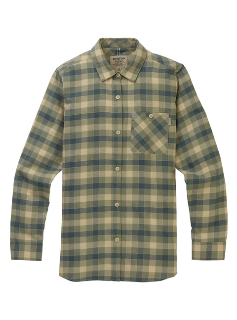 BURTON GRACE LONG SLEEVE WOMENS FLANNEL