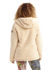 BURTON WOMENS LYNX FLEECE FULL ZIP JACKET
