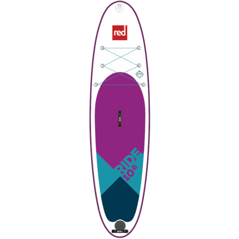RED PADDLE CO RIDE INFLATABLE STAND UP PADDLE BOARD